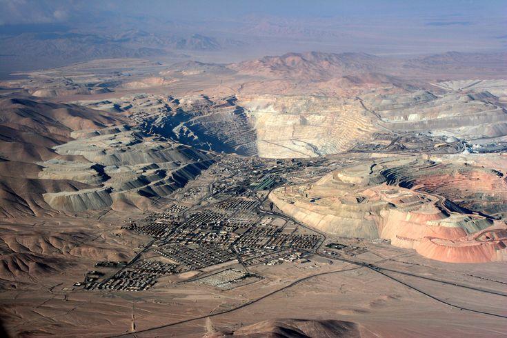 Chuquicamata. Chile. 2007 | De aquí viene el sueldo de Chile… | Flickr