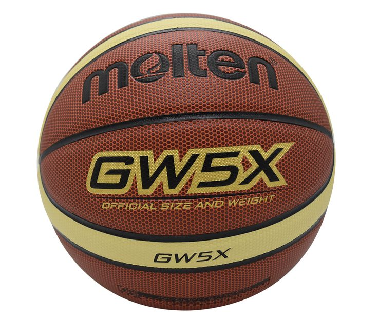original molten basketball ball GW5X High Quality Genuine Molten PU Material Official Size5 Free With Net Bag+ Needle
