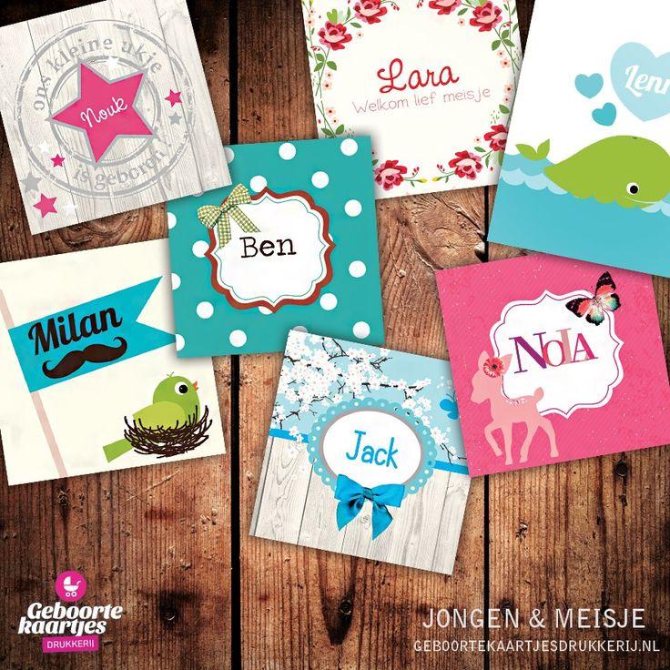 Geboortekaartje - Kaartjes voor een lief kindje! www.geboortekaartjesdrukkerij.nl #geboortekaartjes, #geboorte, #kaartjes, #zelfontwerpen, #ontwerpen, #uniek, #jongen, #meisje, #zwanger, #baby, #girl, #boy, #cards, #collage,