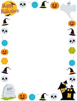 Happy Halloween Border