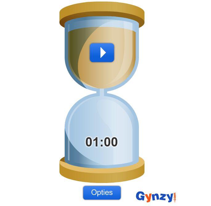 Zandloper voor op het digibord: http://cdn.gynzy.com/partners/pols/Hourglass.swf