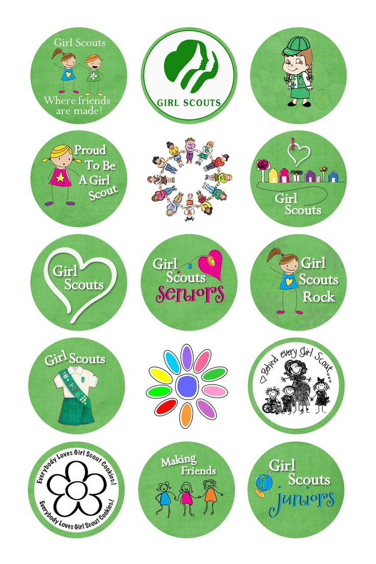 Girl Scout Cookie Nail Art: 1000+ Images About Girl Scouts On Pinterest