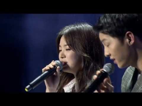 160617 송중기 송혜교 Song Joong Ki Song Hye Kyo sing 'Always' 宋仲基 宋慧乔合唱 Song S...