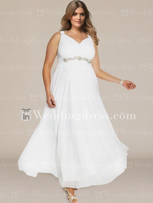Plus Size Wedding Dress With Empire Waist Ps101 Dresses Under 100empire