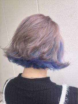 スケルトンボブ/ANKH CROSS【アンク・クロス】原宿店をご紹介。2017年春の最新ヘアスタイルを100万点以上掲載!ミディアム、ショート、ボブなど豊富な条件でヘアスタイル・髪型・アレンジをチェック。