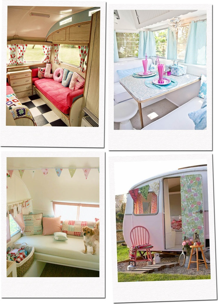 As a little girl I dreamed of having a caravan in the backyard as my bedroom! EV