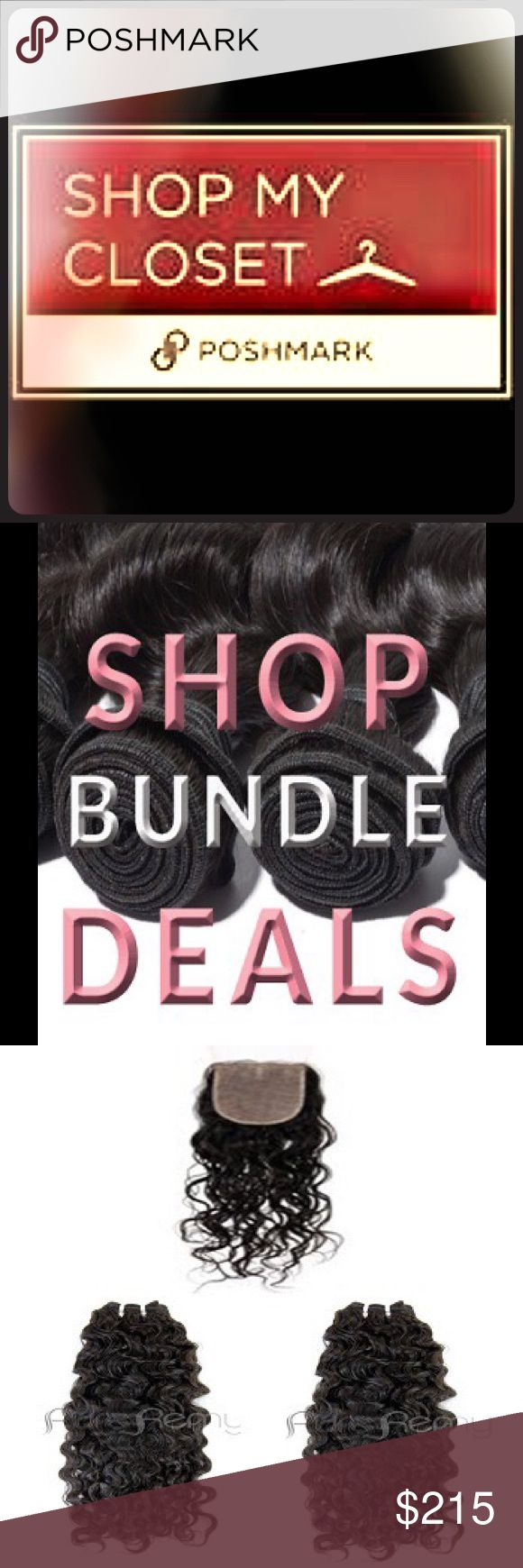 Malaysian bundle deals To get my deals you must place your orders on my online hair weave shop here http://terrisitahairweave.mprsite.com Get all the premium quality hair you need in one simple bundle for one low price.  Our bundle deals give you a variety of the lengths and textures you need to achieve the exact style you want. Whether you are looking for more fullness, Get multiple packs of premium quality 100% Remy hair extensions at one low price.  With our bundles deals, you get the…