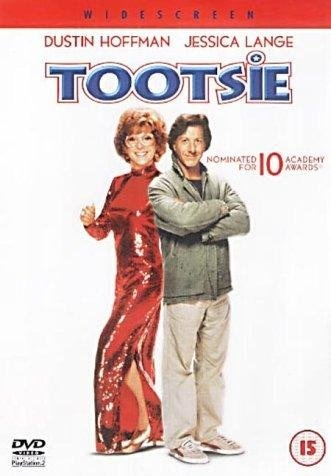 "Tootsie (1982) - loved this movie  Love theme song - ""it might be you""  http://www.youtube.com/watch?v=ORluoD_WzLY"
