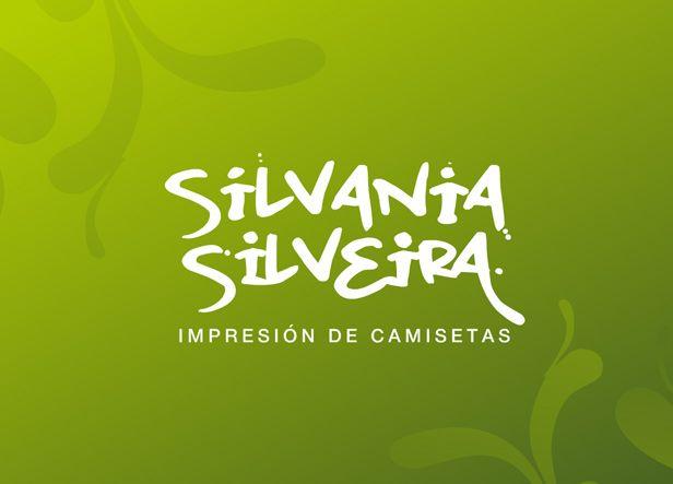 Diseño de logotipo para Silvania Silveira, un local de impresión de camisetas dirigido por una mujer brasileña afincada en Madrid.