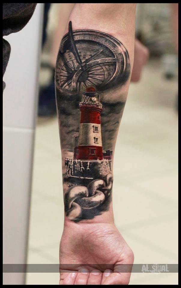 Oltre 25 fantastiche idee su tatuaggi faro su pinterest for Interno coscia uomo