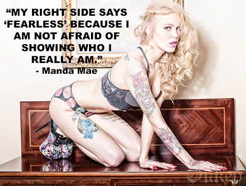 Meet Manda Mae and see more photos of her here. #InkedMagazine #InkedGirls #meme #quote