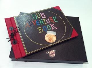 Album de fotos y caja a juego basado en My Adventure Book