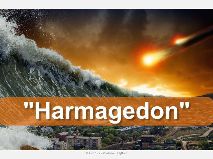 """Er """"Harmagedon"""" verdens ende? Find ud af, hvad Bibelen siger:  http://www.jw.org/da/bibelens-l%C3%A6re/sp%C3%B8rgsm%C3%A5l/harmagedonkrigen/ (Is """"Armageddon"""" the end of the world? Find out what the Bible says.)"""