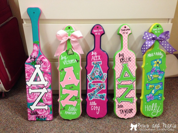 How to Paint the Best Paddle Ever   Bows, Pearls, and Southern Sorority Girls