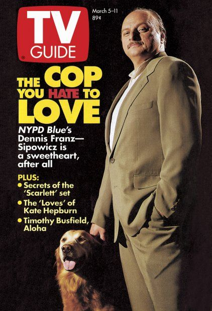 NYPD BLUE - 1994 - TV GUIDE