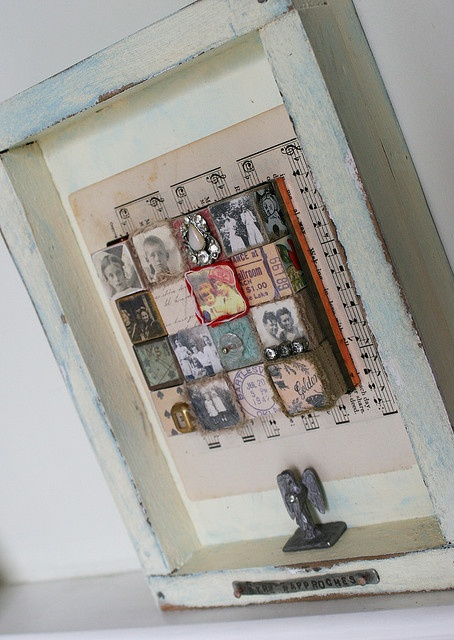 memory box,,i need one...this doesnt look too hard to make: Photos, Collage Oct, Flickr, Art Collages, Photo Sharing, Block Art, Altered Art, Rebecca Sower