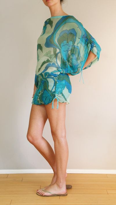 ANTIQUE BATIK DRESS: perfect for a day in the sun!
