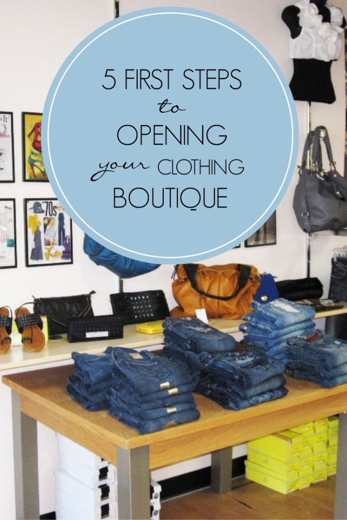 5 First Steps to Opening Your Clothing Boutique | technical-designer.com