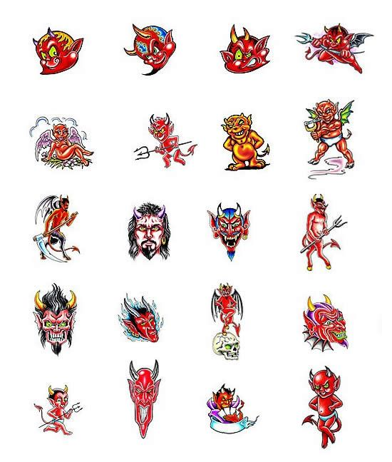 24 Best Tattoo Flash Of Devils And Angels Images On