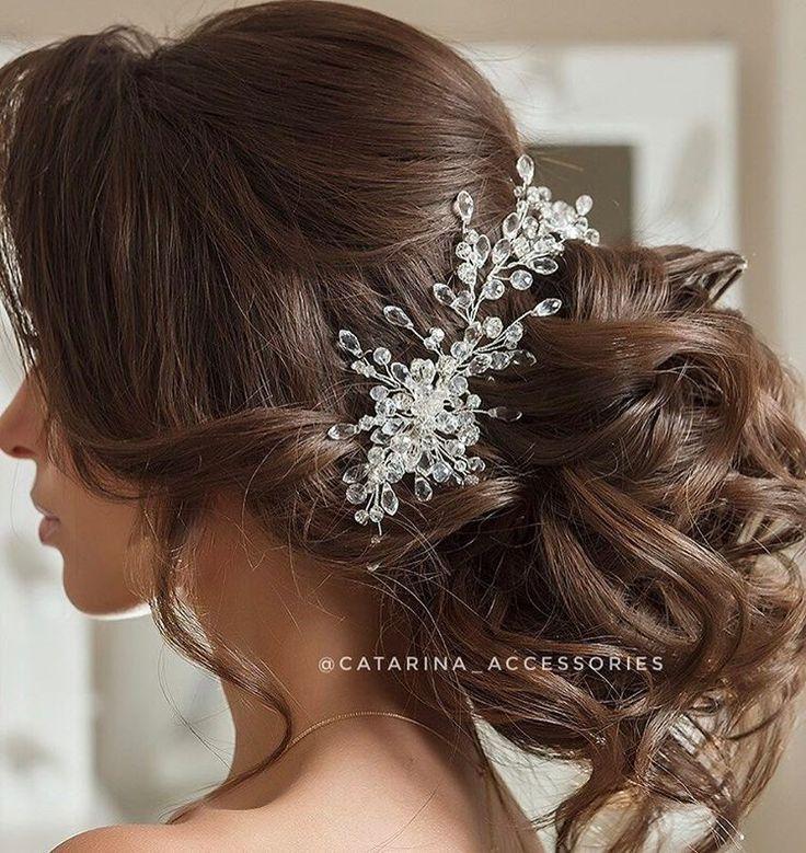 Мои милые невесты! . Уже начата запись на весну! Очень рада, что невесты беспокоятся о своих украшениях заранее❤️Ведь без спешки намного проще проработать каждую деталь! . И совсем скоро порадую вас новой летней коллекцией свадебного сезона 2017💎👰🏻👸🏼 . Украшение в прическе от @catarina_accessories ; Образ от @lstudio.letyagina ________________________ По вопросам приобретения украшений и разработки своего собственного эскиза пишите в direct/vk или свяжитесь со мной по номеру…