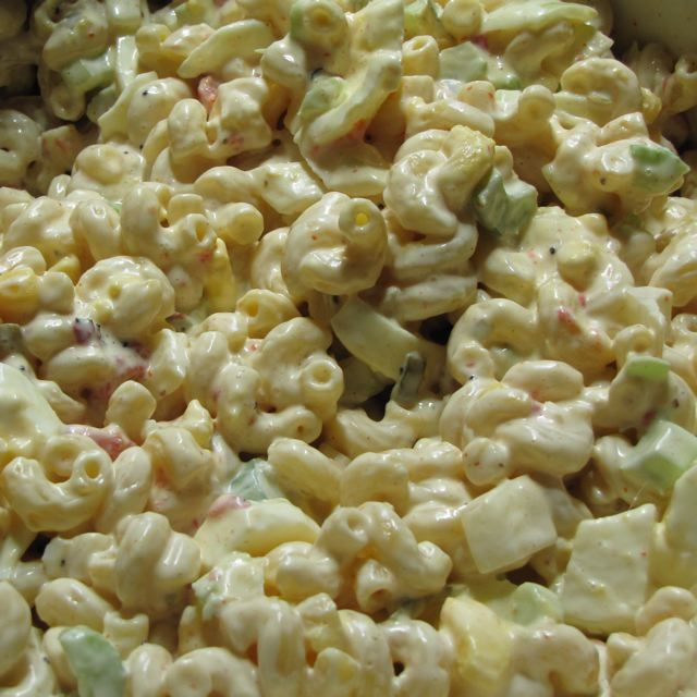 Amish Macaroni Salad « Goodcookbecky's Blog