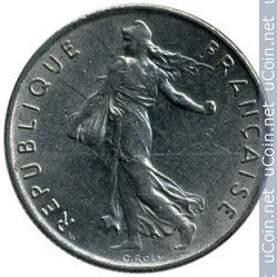 ½ franc, 1965, EGALITE, France, FRATERNITE, LIBERTE, REPUBLIQUE FRANÇAISE