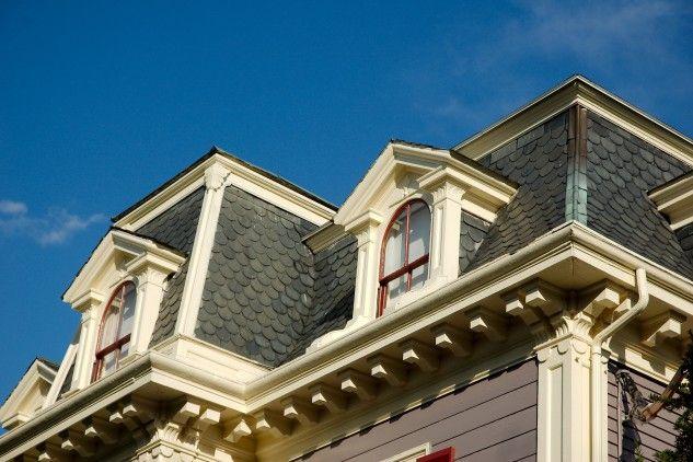 9 best images about house mansard on pinterest columns for Modern mansard roof