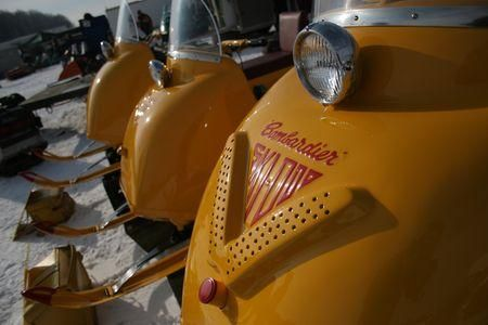 Ski-Doo snowmobile from 60s
