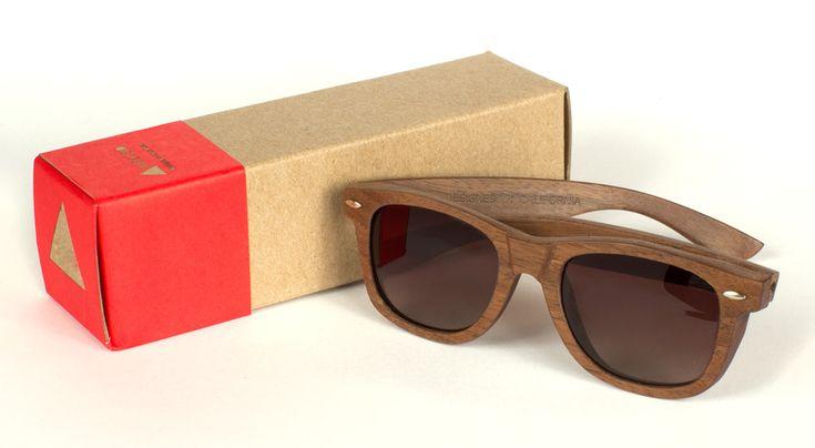 Walnut >> Wood Glases #Style #Fashion