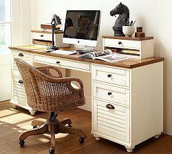 Home Office Furniture, Desk Sets & Home Office Desks   Pottery Barn