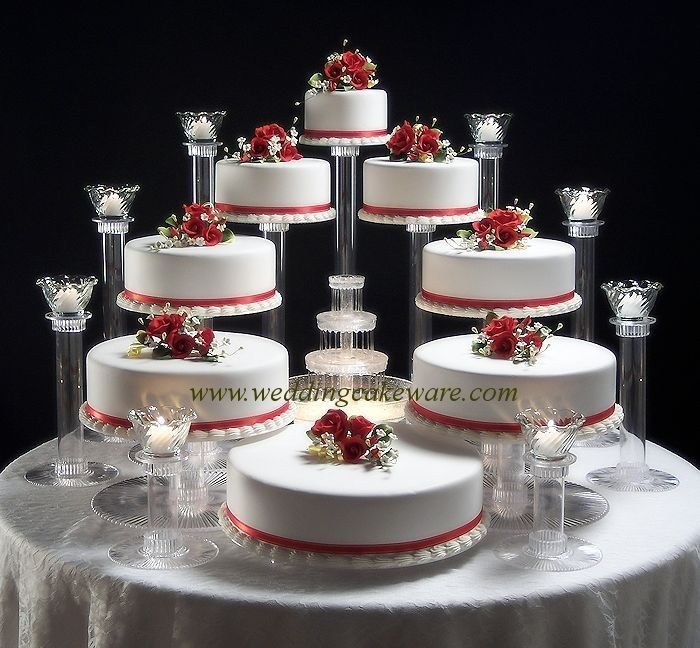 8 TIER WEDDING CAKE STAND STANDS / 8 TIER CANDLE STANDS #SplendorStands