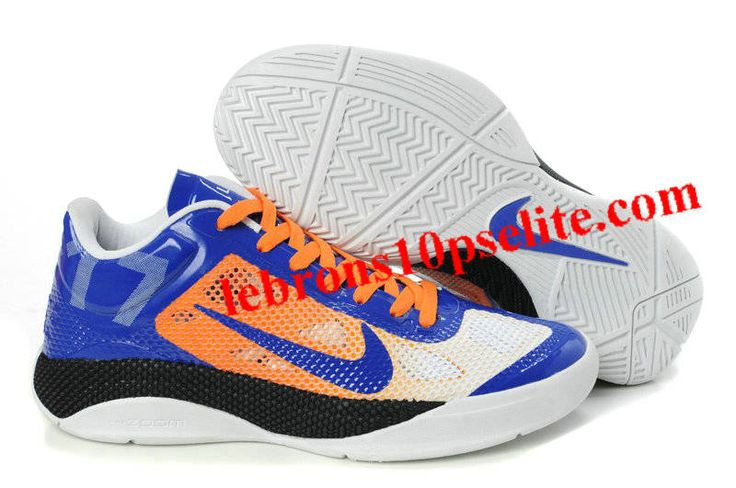 Jeremy Lin Shoes - Nike Zoom Hyperdunk 2011 Low Blue/Orange