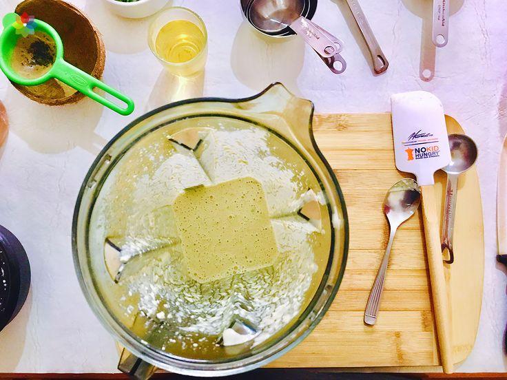 Ensaladas: Aderezo de sésamo y jengibre para coleslaw, realizado en clase 5 http://www.conscienciaviva.com/ #alimentacionconsciente #veganismo
