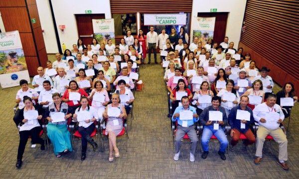 Pequeños productores de 4 municipios del Meta se convierten en Empresarios del Campo.