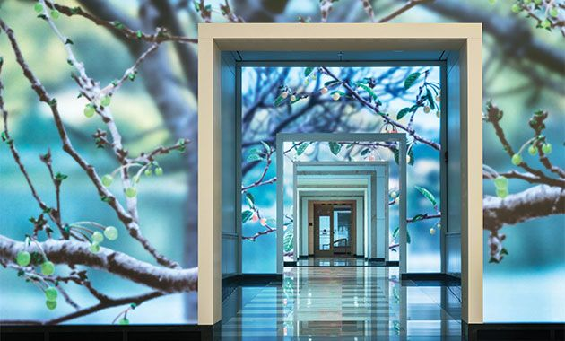 ESI Design Transforms Washington, D.C., Lobby with Interactive Installation - Contract Magazine