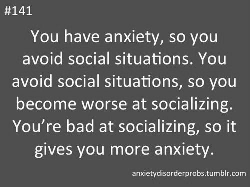 Image result for social anxiety is like