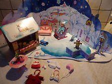 Mini Baby Born Puppe Adventskalender Winter Schlitten Zubehör selten rar