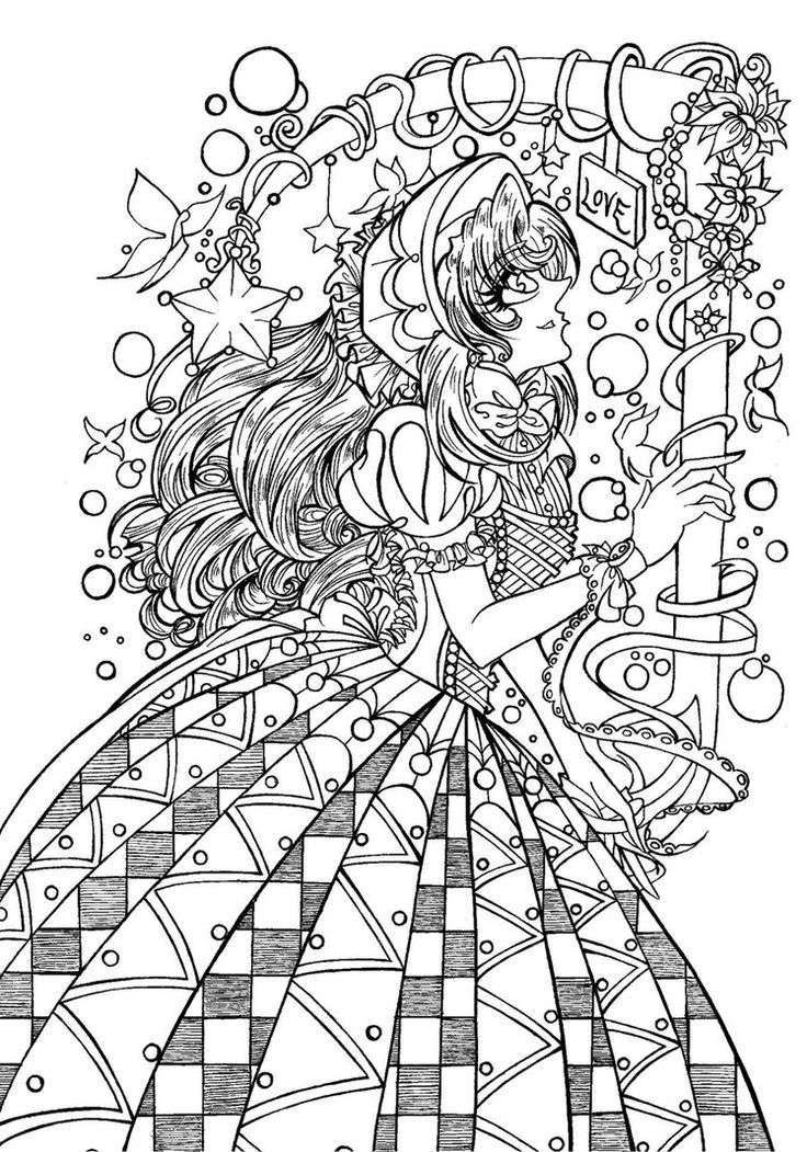 90 Best Magic Users Images On Pinterest Coloring Books