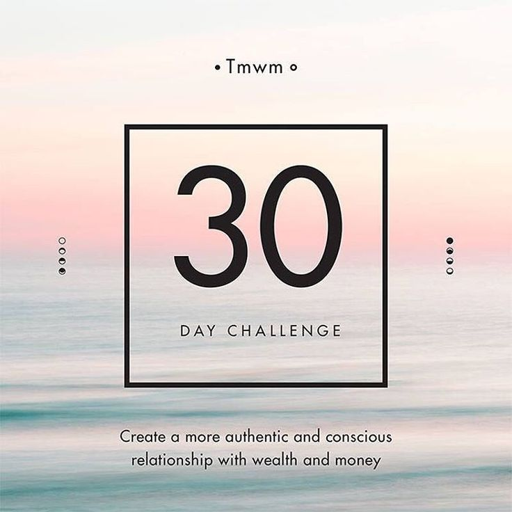 Join The mindful wealth movement's FREE 30 day challenge and introduce mindfulness principles to your wealth!