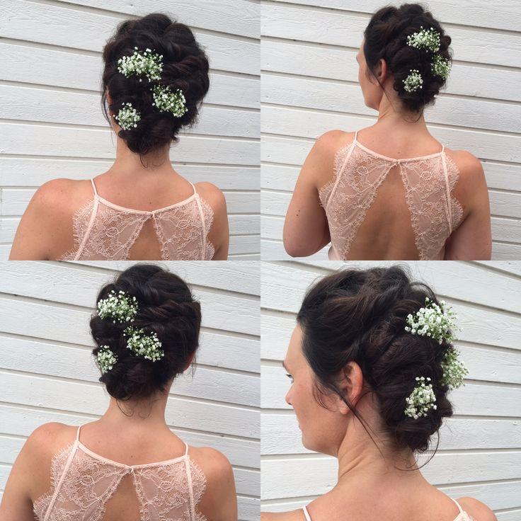 #wedding #bride #updo