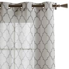 Collection designer - rideau Baroque - longueur 84 po