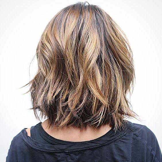 Layers + Soft Undercut... #longbob #haircut #undercut #livedinhair #ramireztransalon