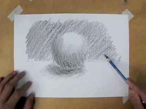 Desenho e Pintura - Desenhando uma esfera. #Drawing #esfera #desenho #staedtler