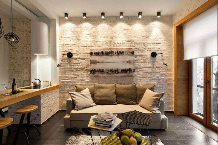 Remekbe szabott 40nm-es modern kis lakás sok szép megoldással - Lakberendezés…