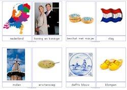 Nederland downloads » Juf Sanne woordkaarten