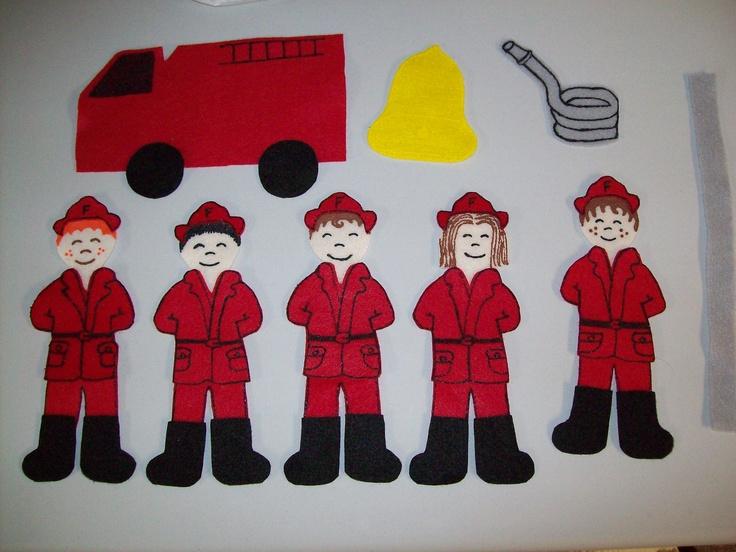 Five Little Firefighters $12.00