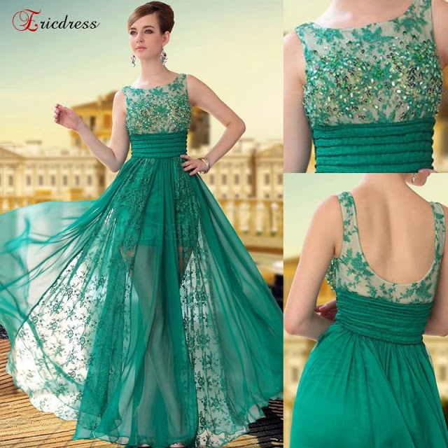 Fresh color summer gown for ladies-for more visit http://www.funnfashion.net/