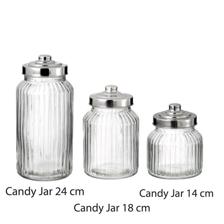 glass sweet jars for wedding dessert tables and candy buffets available from www.theweddingofmydreams.co.uk @The Wedding of my Dreams #glassjar #sweetjars #candyjars