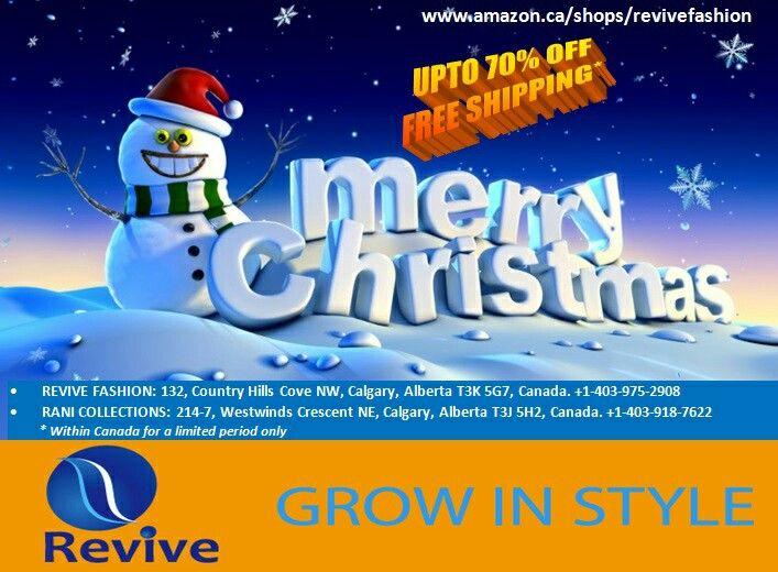 Shop at www.amazon.ca/shops/revivefashion