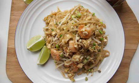 Felicity Cloake's perfecrt pad thai from the guardian.